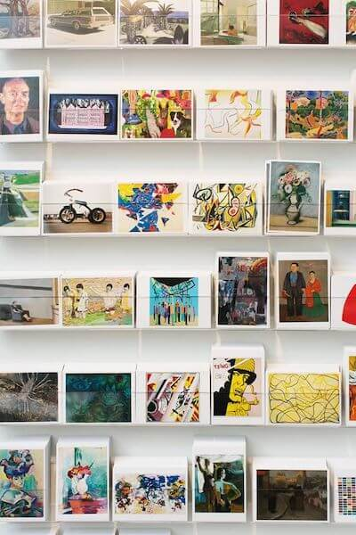 MoMAストアのポストカード