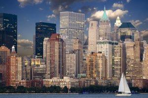 ニューヨークのマンハッタン