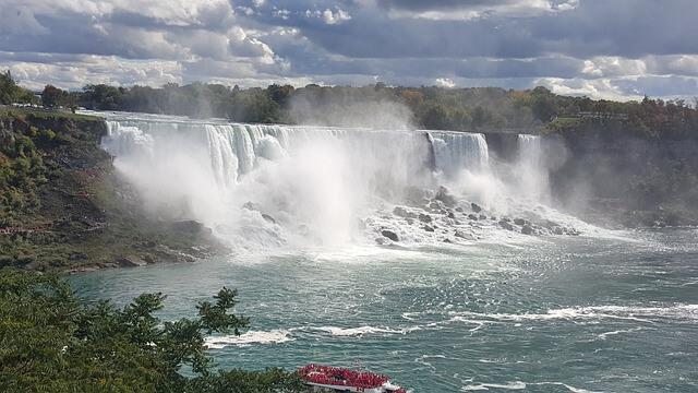 ナイアガラの滝の景色(カナダ側)1