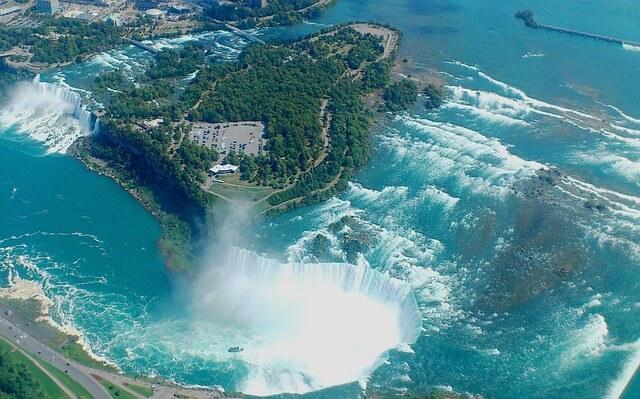 ナイアガラの滝の景色(カナダ側)4