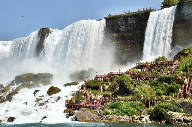 ナイアガラの滝の景色(カナダ側)5